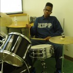 Jaqualyn on Drums